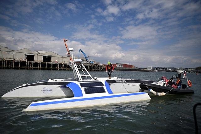 Tàu biển tự hành trang bị công nghệ AI đầu tiên trên thế giới - Ảnh 1.
