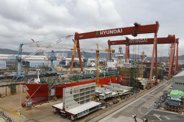 Hàn Quốc đứng ở vị trí số 1 toàn cầu về số đơn đặt hàng đóng tàu mới - Ảnh 1.