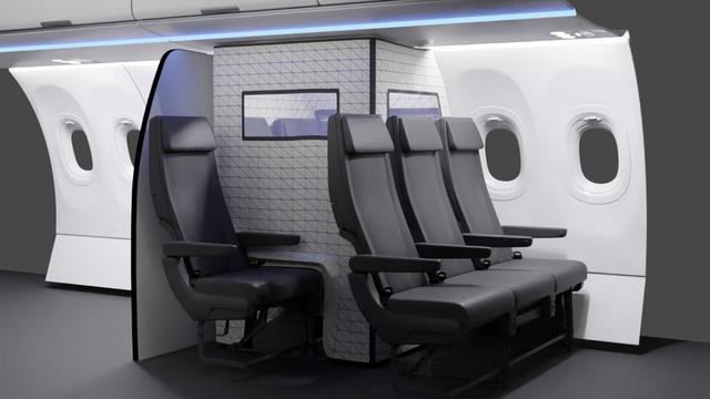 Airbus thiết kế lều cách ly COVID-19 - Ảnh 1.
