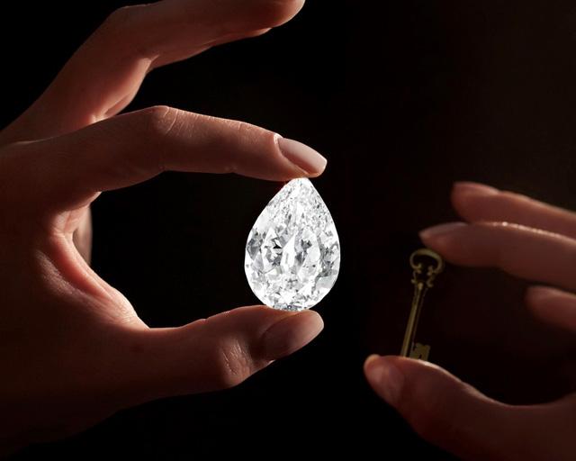 Viên kim cương 101 carat đầu tiên được mua bằng tiền điện tử - Ảnh 1.