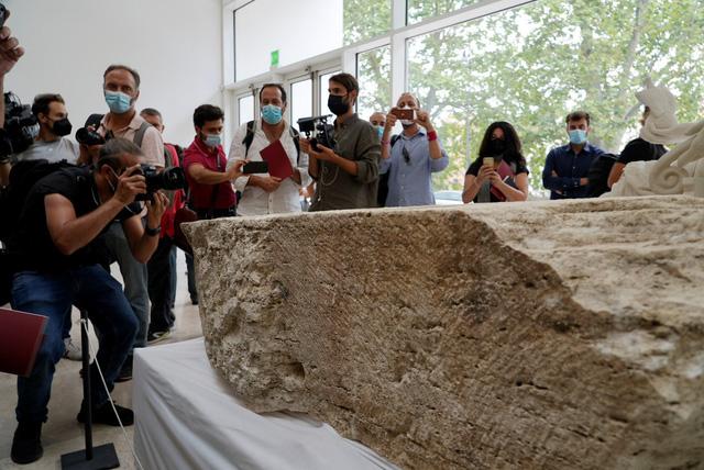 Phát hiện phiến đá hiếm đánh dấu ranh giới của thành phố Rome - Ảnh 1.