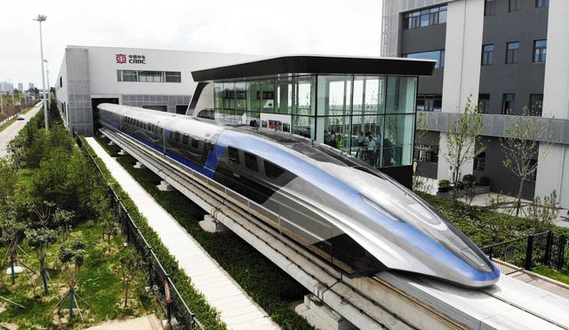 Trung Quốc ra mắt tàu đệm từ trường siêu tốc - Ảnh 1.