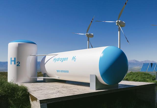 Nghiên cứu mới về khí hydro xanh - Ảnh 1.