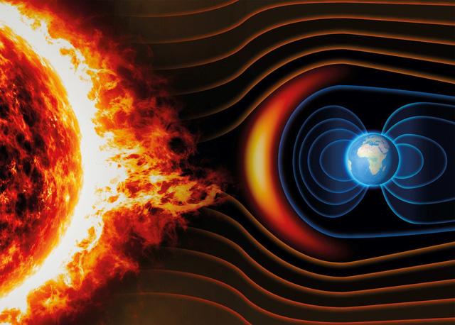 Gió Mặt Trời vận tốc 400km/giây gây ra vết nứt trên từ trường Trái Đất - Ảnh 1.