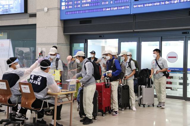 Tổ chức kỳ thi tiếng Hàn cho lao động về nước đúng hạn năm 2021 - Ảnh 1.