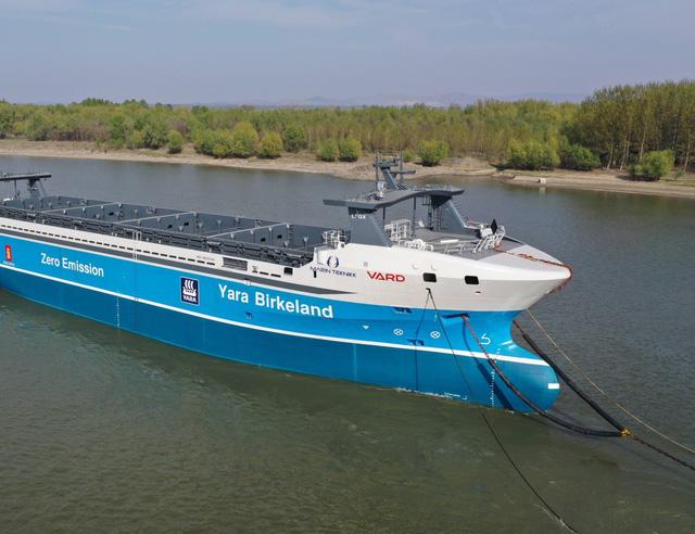 Na Uy dự kiến thử nghiệm tàu chở hàng không thủy thủ đầu tiên trên thế giới - Ảnh 1.