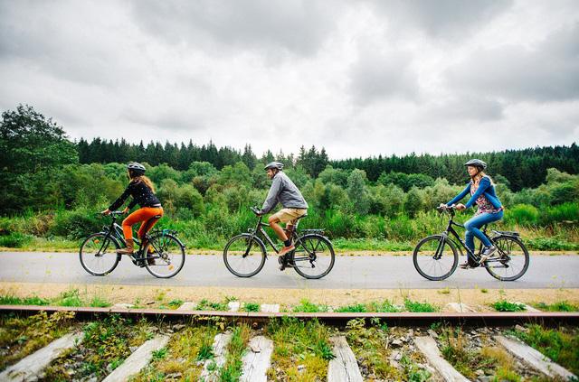 Bỉ xây dựng đường cao tốc dành cho xe đạp - Ảnh 1.