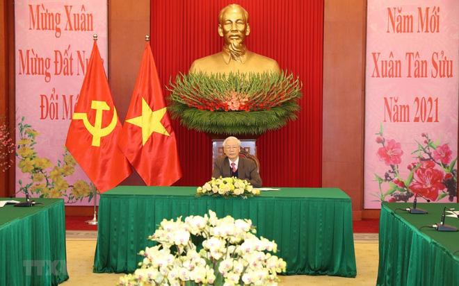 Ông Tập Cận Bình chúc tết người dân Việt Nam
