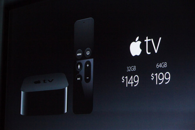 Apple TV bản nâng cấp 2015 giá từ 149 USD