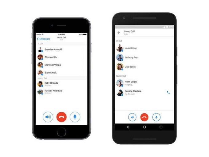 Facebook Messenger đã cho gọi theo nhóm - Tuổi Trẻ Online