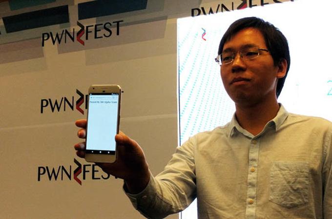 "Smartphone cao cấp Google Pixel ""bị hạ"" trong 60 giây"