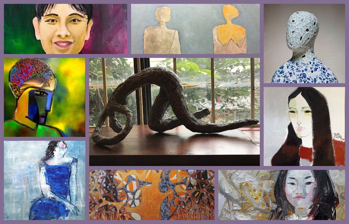 Triển lãm điêu khắc, tranh Chân dung sẽ vẽ ký họa tặng khán giả - Ảnh 1.