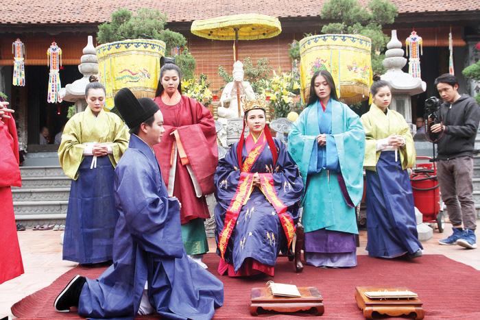 Dệt nên triều đại - khôi phục văn hóa cung đình đã phôi phai - Ảnh 1.