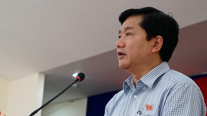 Tạm đình chỉ đại biểu Quốc hội đối với ông Đinh La Thăng - Ảnh 1.