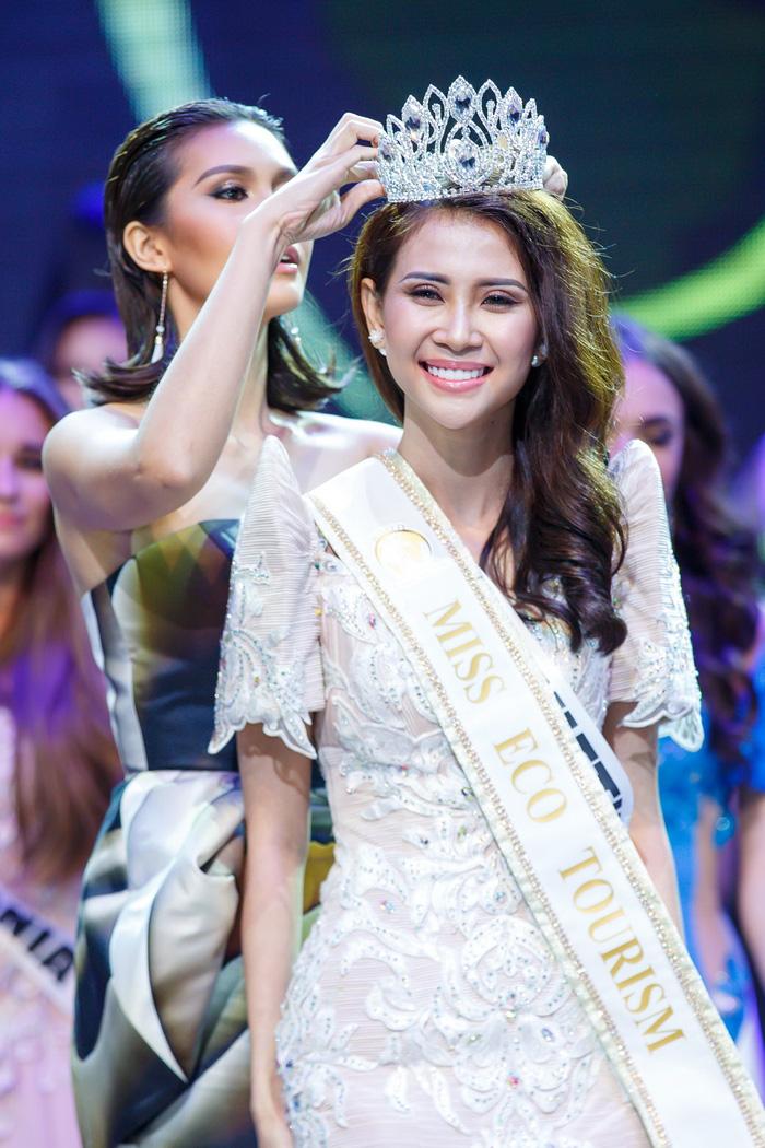 Liên Phương đăng quang Miss Eco Tourism 2017 - Ảnh 1.