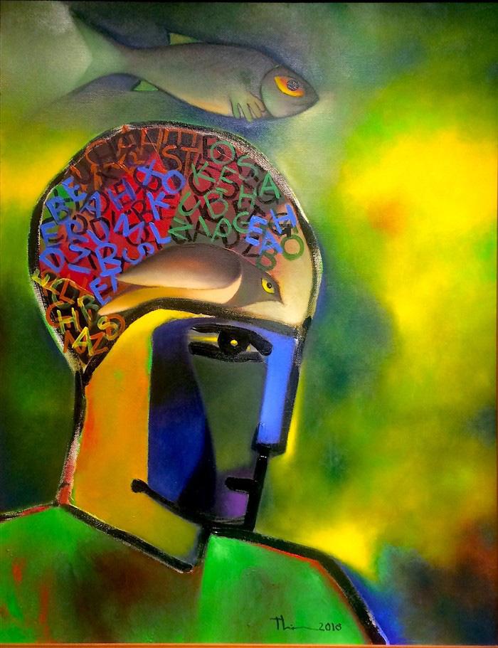 Triển lãm điêu khắc, tranh Chân dung sẽ vẽ ký họa tặng khán giả - Ảnh 10.