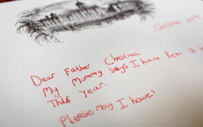 Trẻ phát triển toàn diện hơn nhờ viết thư cho ông già Noel?