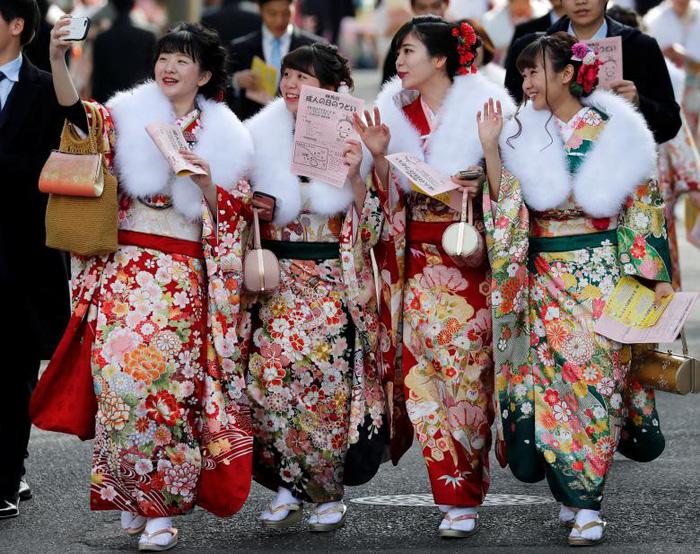 Thiếu nữ Nhật rạng rỡ kimono trong lễ trưởng thành - Ảnh 11.
