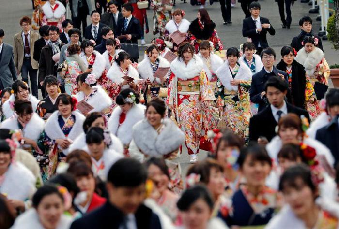 Thiếu nữ Nhật rạng rỡ kimono trong lễ trưởng thành - Ảnh 12.