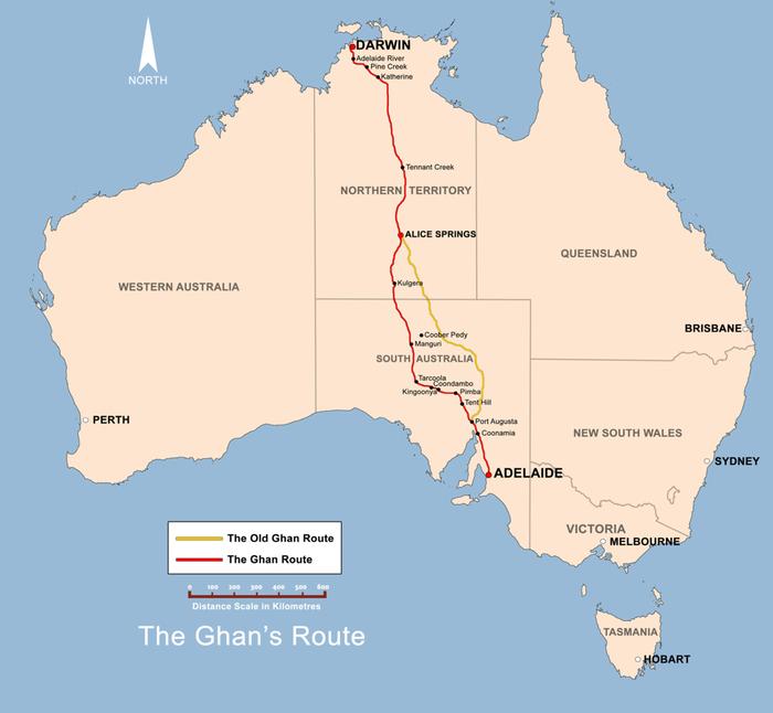 Ôm cả Australia vào lòng trên con tàu dài bất tận - Ảnh 4.