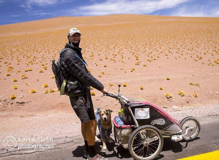 Chàng trai dắt chó đi bộ vòng quanh thế giới - Ảnh 5.