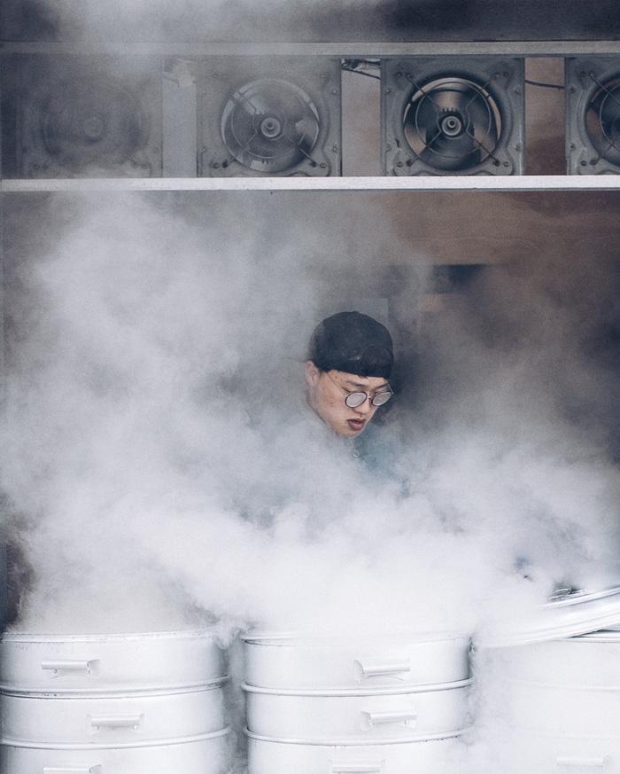 Thưởng thức bánh bao hấp Hàn Quốc - Ảnh 2.