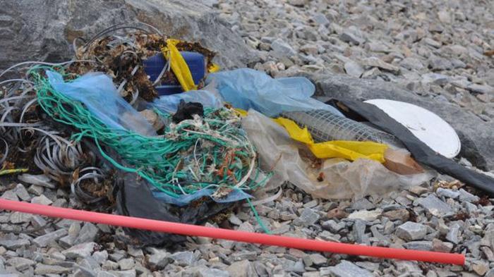 Choáng váng khi 1 lít băng Bắc Cực chứa 234 mẩu rác - Ảnh 1.