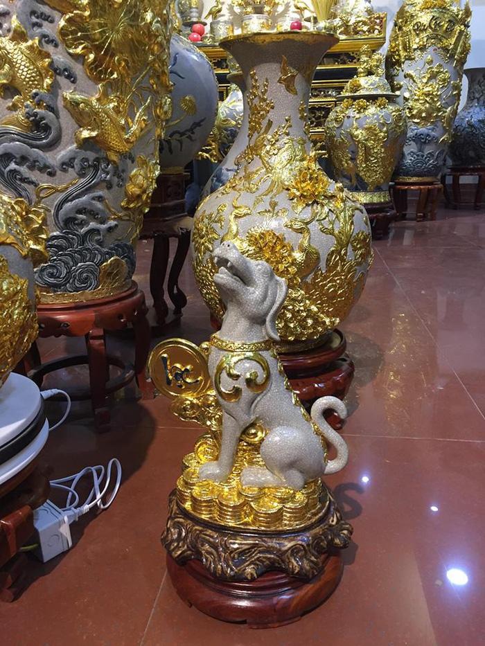 Dân Sài Gòn - Hà Nội bỏ tiền triệu sắm linh vật chó chơi Tết - Ảnh 3.