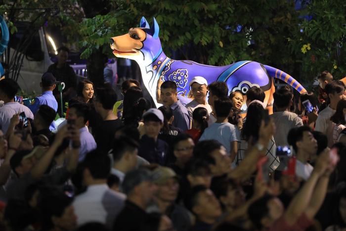 Biển người trong đêm khai mạc đường hoa Nguyễn Huệ - Ảnh 9.