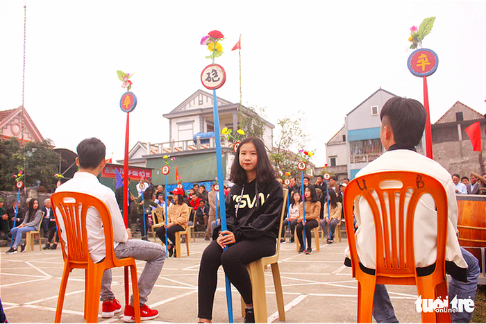 Chơi cờ trịch ở Cẩm Nhượng ngày xuân  - Ảnh 5.