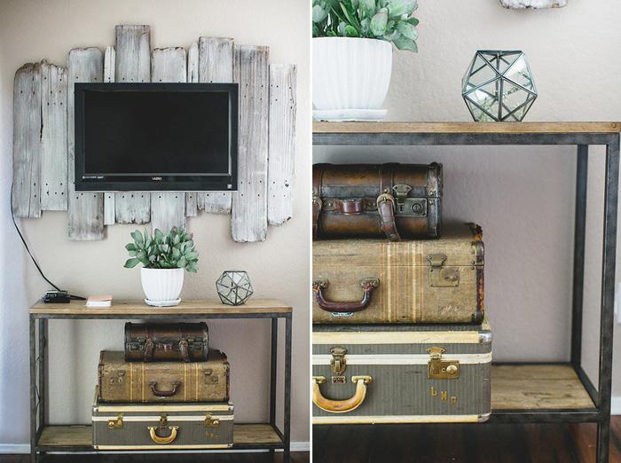 10 kiểu trang trí tivi để phòng khách đẹp hơn - Ảnh 4.