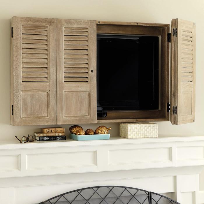 10 kiểu trang trí tivi để phòng khách đẹp hơn - Ảnh 7.