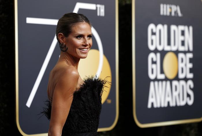Minh tinh Hollywood đồng loạt diện đồ đen đến lễ trao giải Quả Cầu Vàng - Ảnh 5.