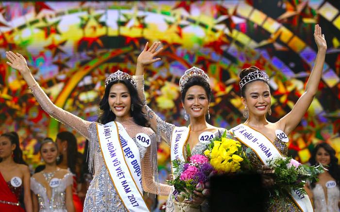 HHen Niê đăng quang Hoa hậu Hoàn vũ Việt Nam 2017 - Ảnh 2.