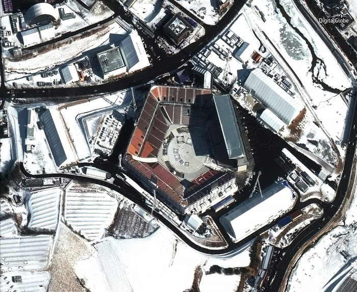 Ngắm ảnh vệ tinh các địa điểm Olympic mùa đông Pyeongchang - Ảnh 4.