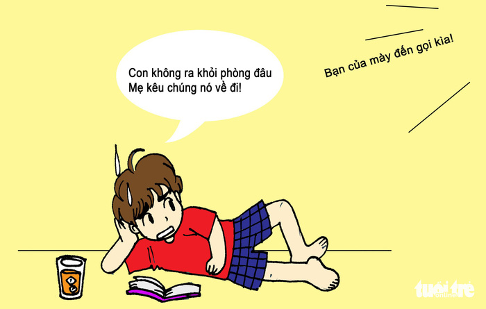 Hí họa Sài Gòn nắng nóng: 5 kiểu tránh nóng của bạn trẻ - Ảnh 1.