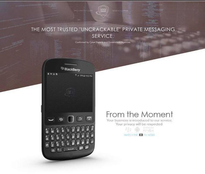 FBI tóm 'trùm' độ Blackberry dành cho giới tội phạm - Ảnh 2.