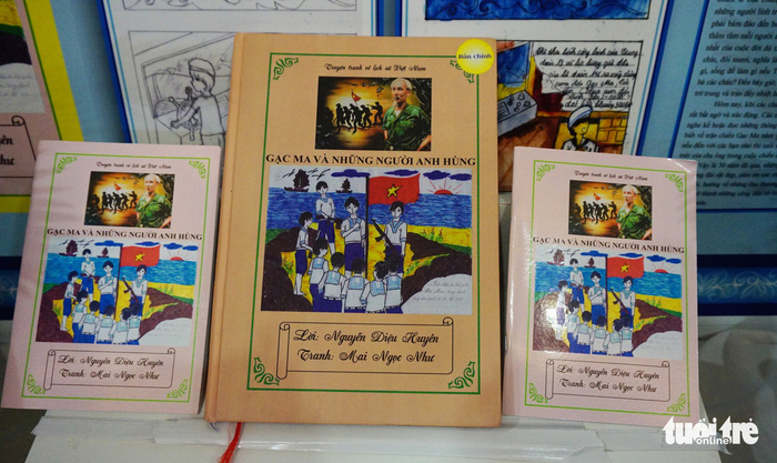 Hai nữ sinh dành bảy tháng vẽ truyện tranh lịch sử về Gạc Ma - ảnh 3