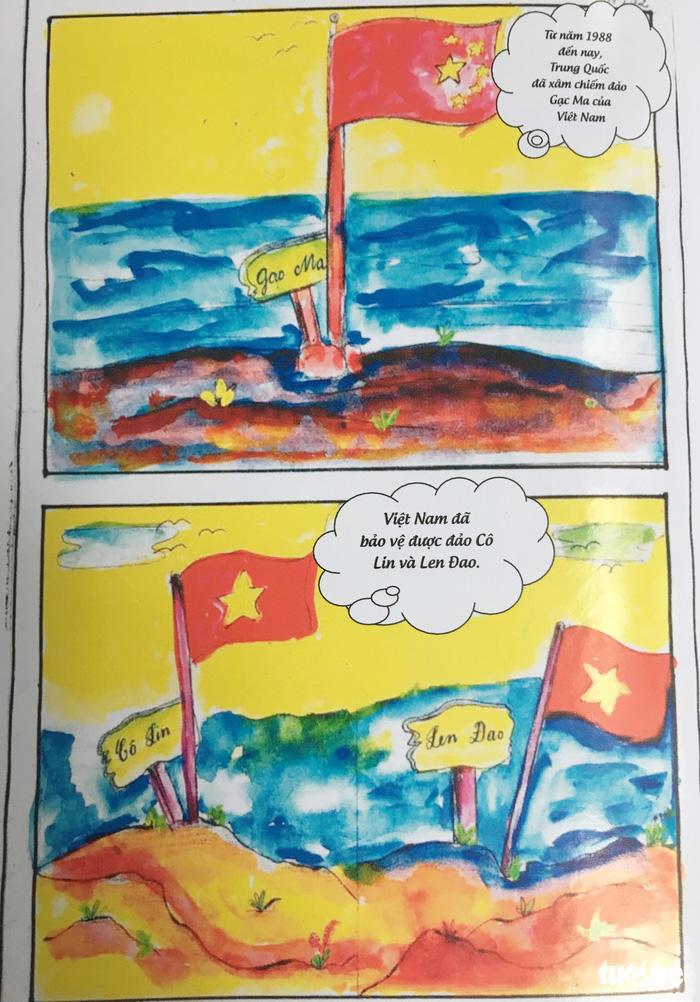 Hai nữ sinh dành bảy tháng vẽ truyện tranh lịch sử về Gạc Ma - ảnh 6