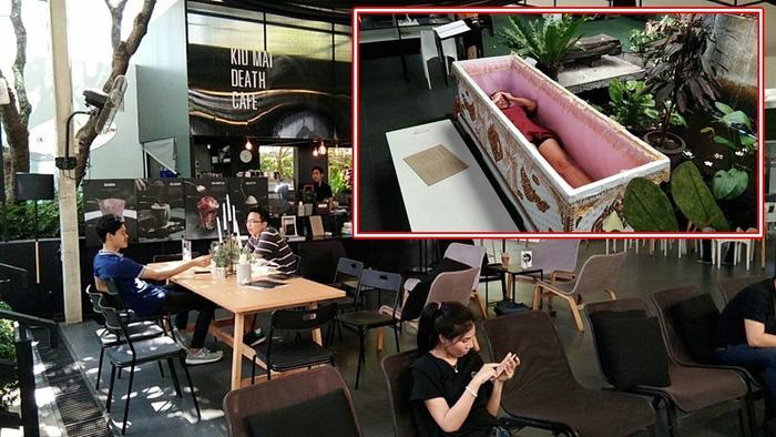 Đi Bangkok uống cà phê ở quán cà phê đám tang - Ảnh 9.