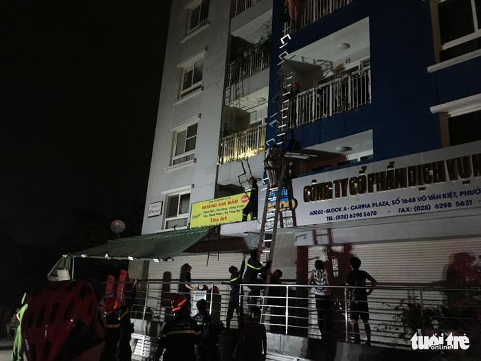 Cháy chung cư Carina tại Sài Gòn, 13 người chết - Ảnh 3.