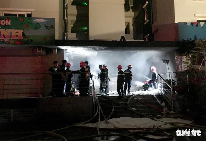 Cháy chung cư Carina tại Sài Gòn, 13 người chết - Ảnh 7.