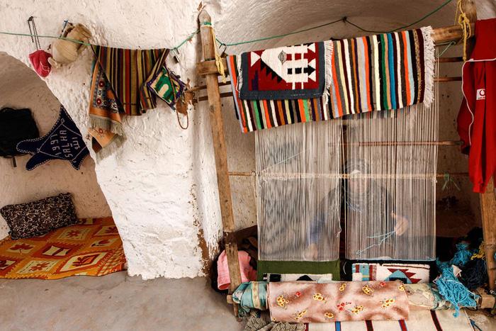 Cuộc sống của các gia đình dưới lòng đất ở Tunisia - Ảnh 6.