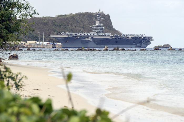 Tàu sân bay Mỹ đã neo đậu trong Vịnh Đà Nẵng - Ảnh 10.