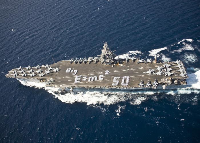Sức mạnh khét tiếng của đội tàu sân bay Mỹ - Ảnh 3.