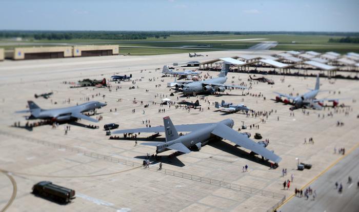 Xem 'Airshow' ở căn cứ không lực Hoa Kỳ - Ảnh 2.