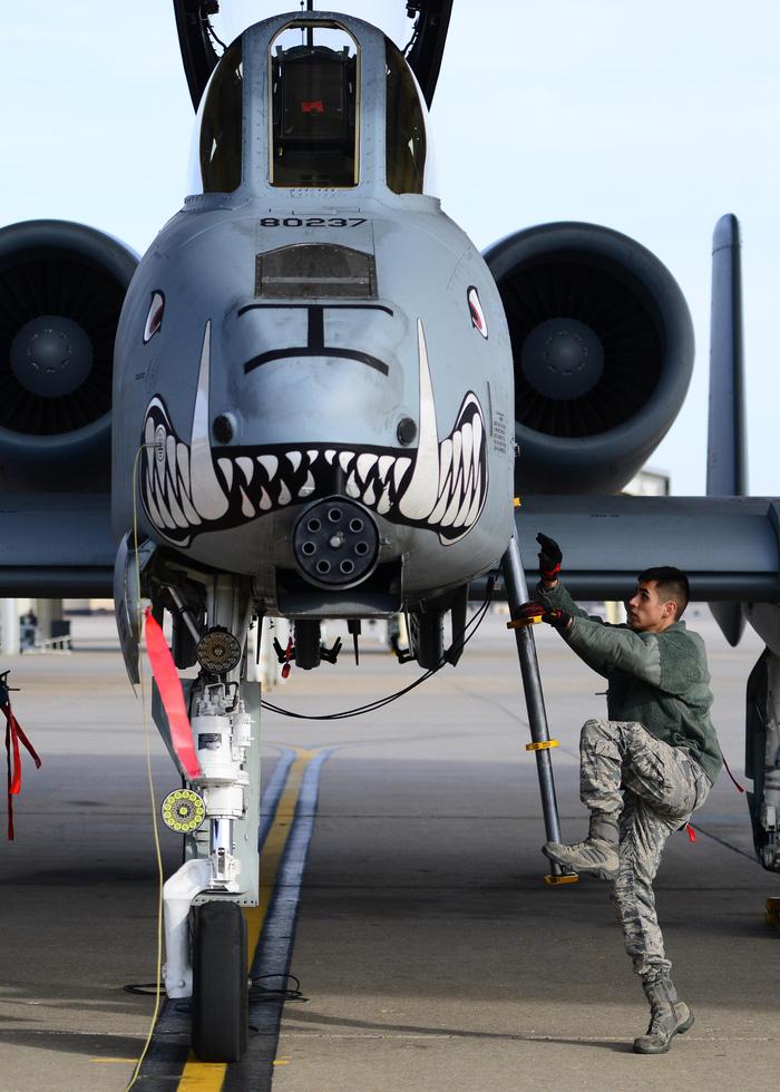 Xem 'Airshow' ở căn cứ không lực Hoa Kỳ - Ảnh 3.