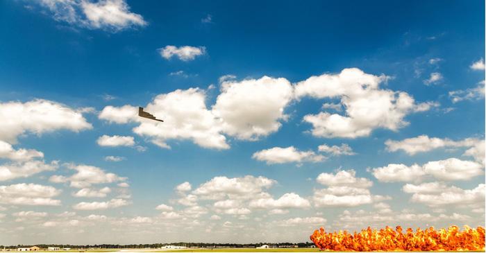 Xem 'Airshow' ở căn cứ không lực Hoa Kỳ - Ảnh 6.