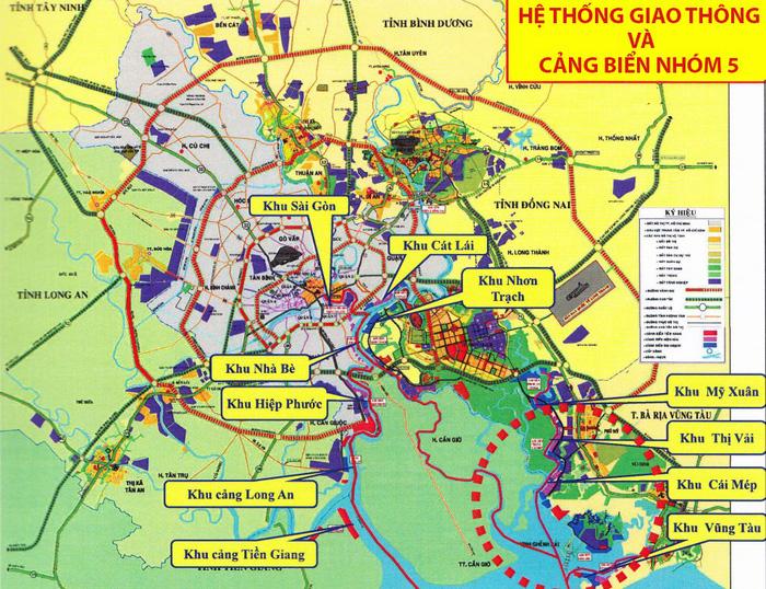 Sẽ di dời toàn bộ bến cảng trên sông Sài Gòn - Ảnh 1.