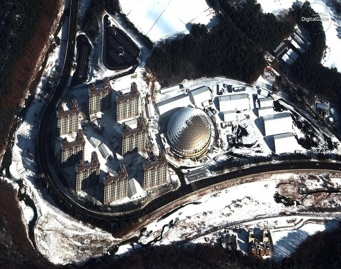Ngắm ảnh vệ tinh các địa điểm Olympic mùa đông Pyeongchang - Ảnh 5.